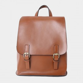 Starttown Belty Brown Backpack (QT0967)