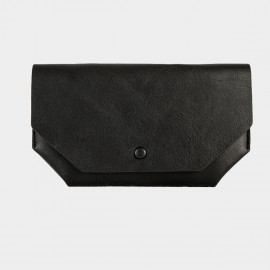 Startown Geometric Thin Black Wallet (WLA162410)