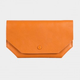 Startown Geometric Thin Orange Wallet (WLA162410)