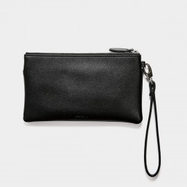 Startown Double Zipper Black Wallet (WLA164450)