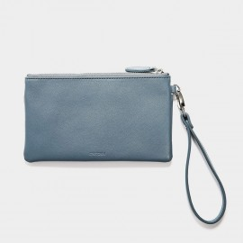 Startown Double Zipper Blue Wallet (WLA164450)