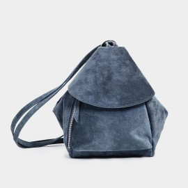 Startown Folded One Side Blue Backpack (WLA164500)
