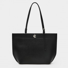 Startown Buckled Black Tote (WLA171370)