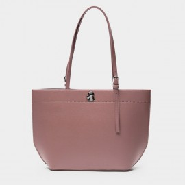 Startown Buckled Brown Tote (WLA171370)