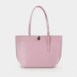 Startown Buckled Pink Tote (WLA171370)