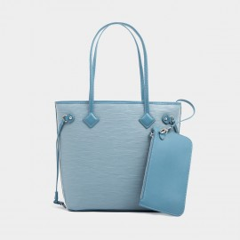 Startown Zipper Blue Tote (XL8955)