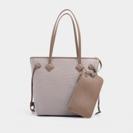 Startown Zipper Grey Tote (XL8955)