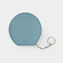 Startown Round With Keychain Blue Coin Purse (WLA164690)
