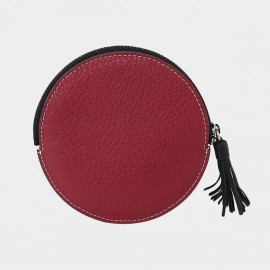 Startown Round Red Coin Purse (QT3031)