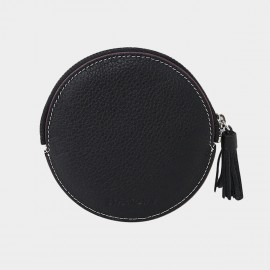 Startown Round Black Coin Purse (QT3031)
