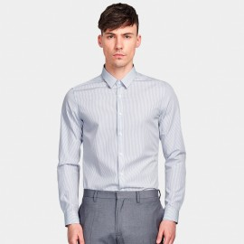 Basique Business Wise Grey Shirt (03.0081)