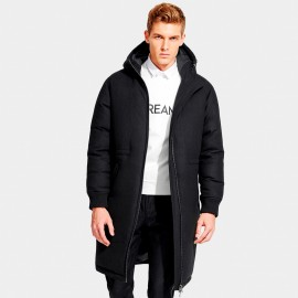 Basique Young King Black Down Jacket (10.0017)