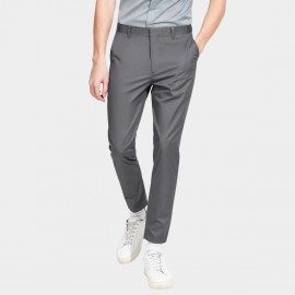 Basique Basic Regular Fit Ankle Grey Pant (22.0017)