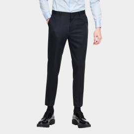 Basique Basic Slim Tubes Ankle Recycled Material Navy Pant (25.0014)