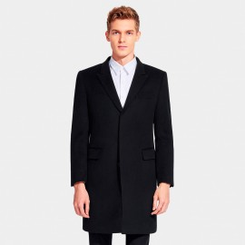 Basique Tri Pocket Black Coat (27.0026)
