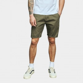 Basique Rolled Green Shorts (21.0021)