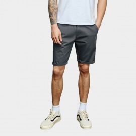 Basique Rolled Grey Shorts (21.0021)