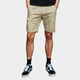 Basique Rolled Khaki Shorts (21.0021)