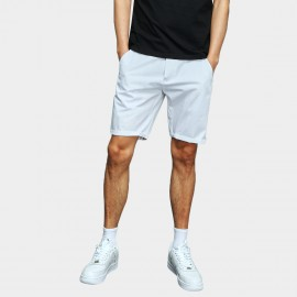 Basique Rolled White Shorts (21.0021)