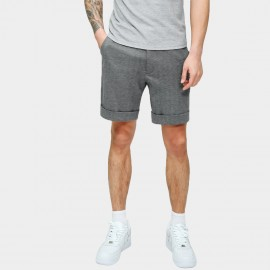 Basique Textured Charcoal Shorts (21.0022)