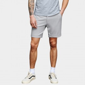 Basique Textured Grey Shorts (21.0022)