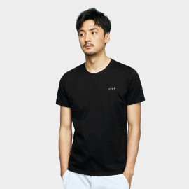 Basique Math Symbols Black Tee (01.0079)