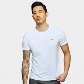 Basique Math Symbols White Tee (01.0079)