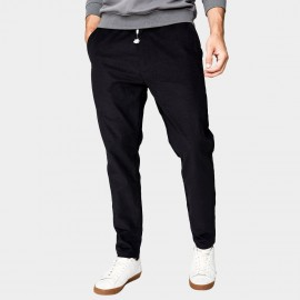 Kuegou Feather Black Pants (YK-1955)