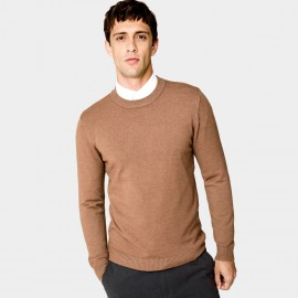 Kuegou Colourful Brown Knit (XZ-8921)