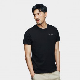 Basique Atlantis Printed Black Tee (01.0080)