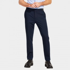 Basique Slim Cropped Navy Pants (25.002)