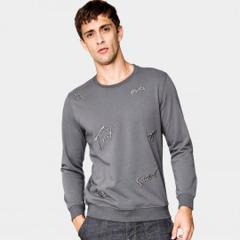 Kuegou Personal Grey Sweater (MW-1531)