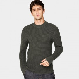 Kuegou Honeycomb Green Knit (DZ-11911)