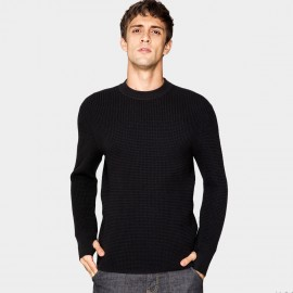 Kuegou Honeycomb Black Knit (DZ-11911)