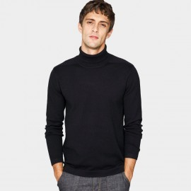 Kuegou Muscular Black Knit (DZ-11601)