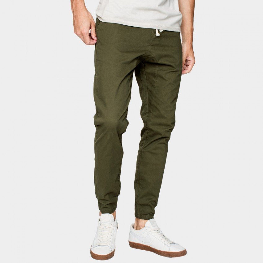 Kuegou Army Green Pants (AK-9706)