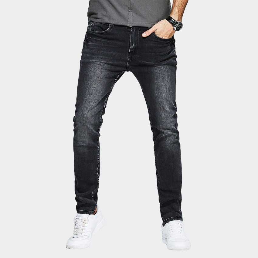 Kuegou Wise Black Jeans (KK-2379)