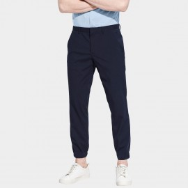 Basique Slim Leg Executive Long Navy Pants (22.0013)