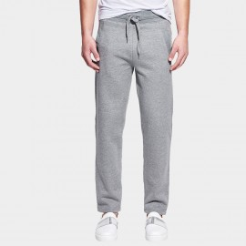 Basique Wide Strip Drawstring Lounge Grey Pants (26.0003)