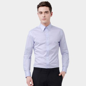 Basique Long Sleeve Light Purple Shirt (03.0036)