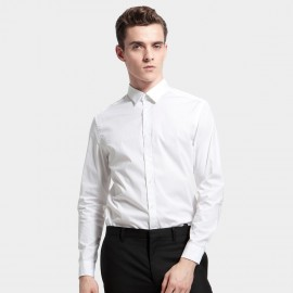 Basique Slim Fit White Shirt (03.0052)