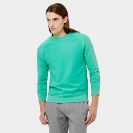 Basique Crew Neck Green Sweater (07.001)