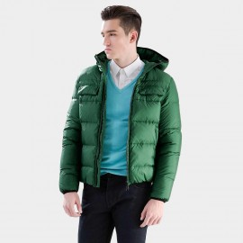 Basique Basic Green Down Jacket (10.001)
