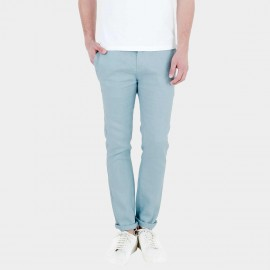 Basique Slim Fit Light Blue Trousers (22.0008)