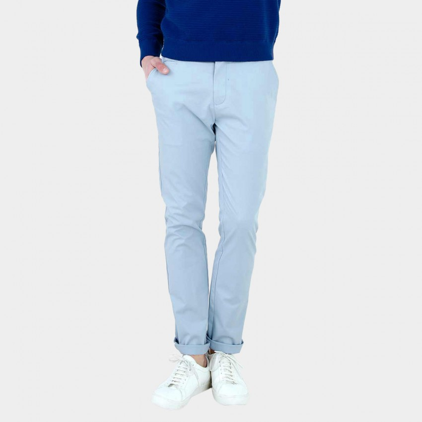 Basique Light Blue Chinos (22.0009)