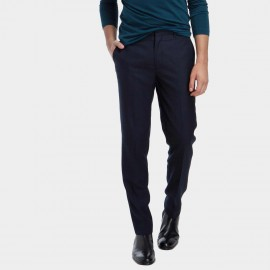 Basique Skinny Fit Business Navy Trousers (25.0003)