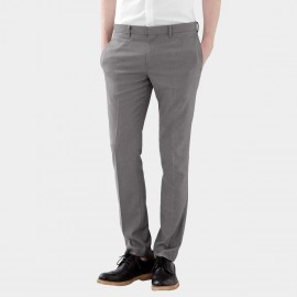 Basique Skinny Fit Office Beige Trousers (25.0004)