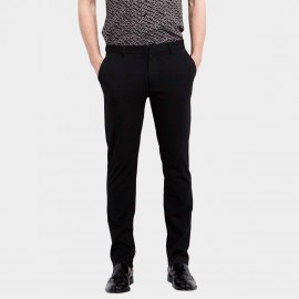 Basique Skinny Fit Elite Black Trousers (25.0005)