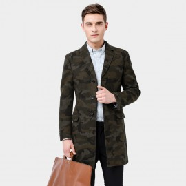 Basique Trendy Camouflage Coat (27.0012)