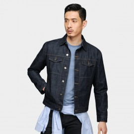 Basique Classic Denim Navy Jacket (8.0034)
